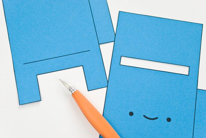DIY Printable Happy Mail Box