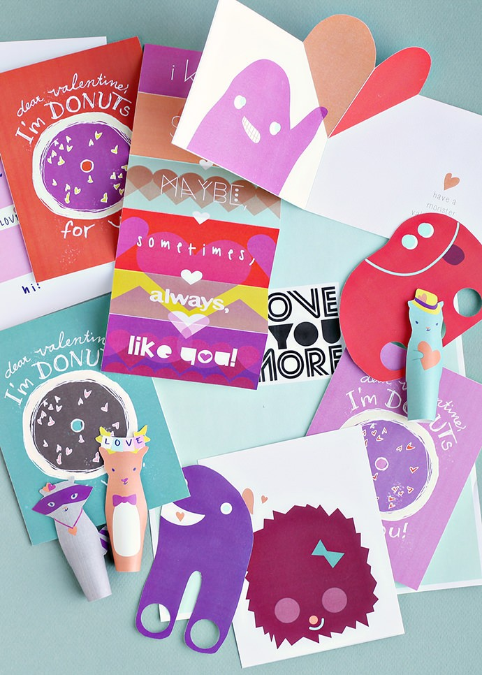 Smallful's Valentine Printables