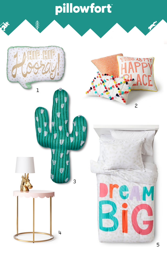 Pillowfort Kids Room Decor