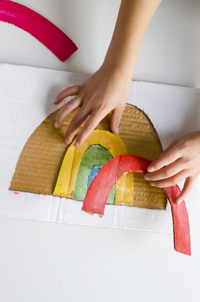 Make A Rainbow Puzzle