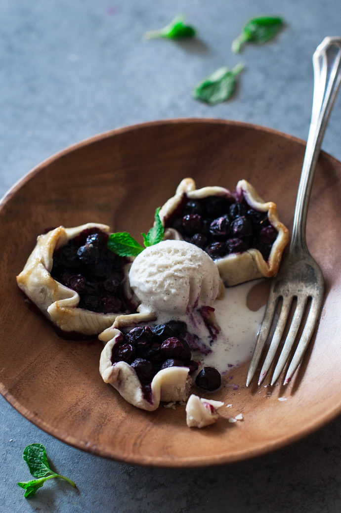 Recipe: Mini Blueberry & Honey Galettes
