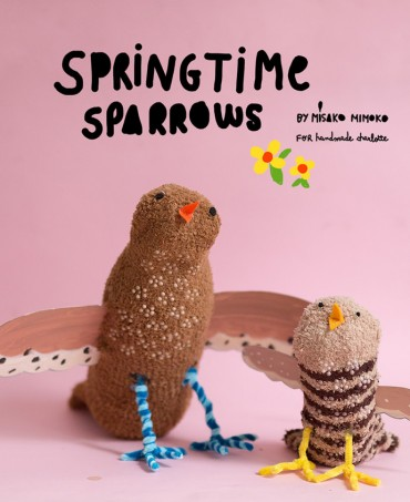 DIY Springtime Sock Sparrows