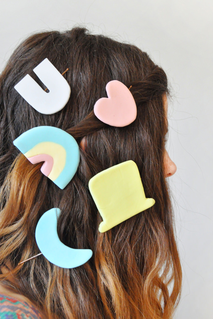 Giant Lucky Charms Barrettes