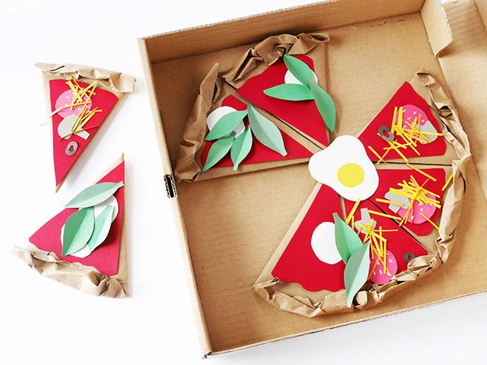 Make A Paper Pizzeria Handmade Charlotte