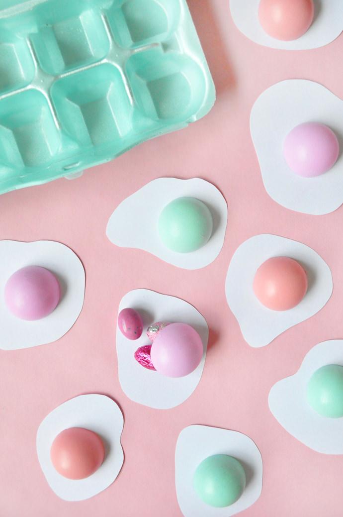Sunny-Side Up Easter Eggs | Handmade Charlotte