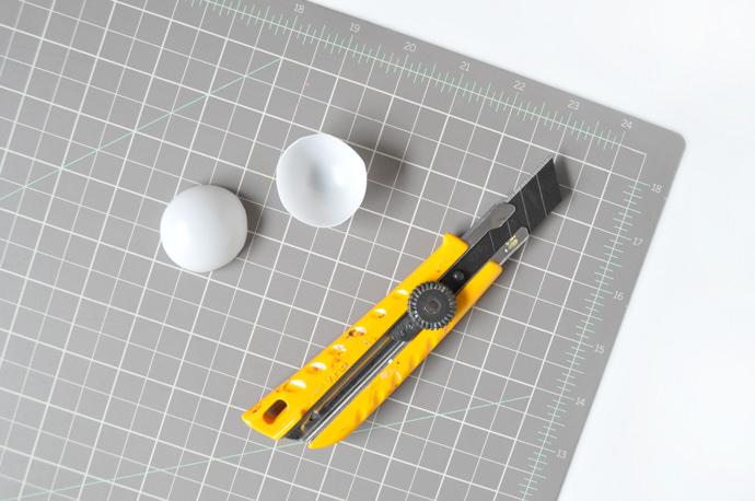 DIY Sunny-Side Up Easter Eggs