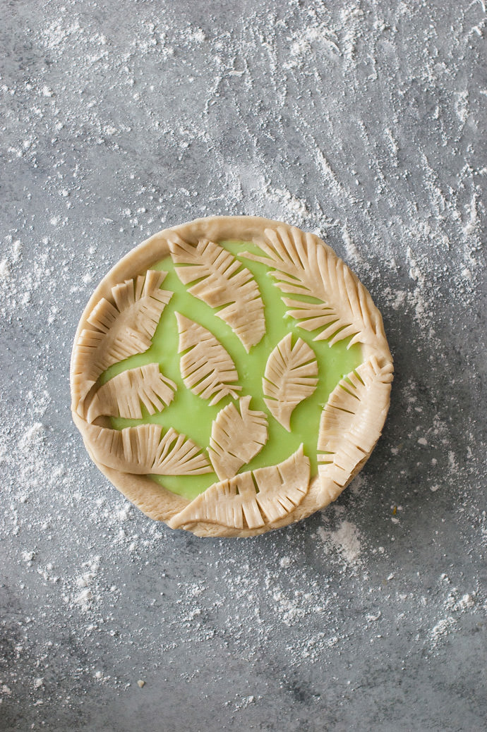 How To Make A Fern Pie Crust