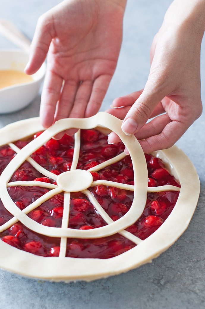 Ferris Wheel Pie Crust Tutorial