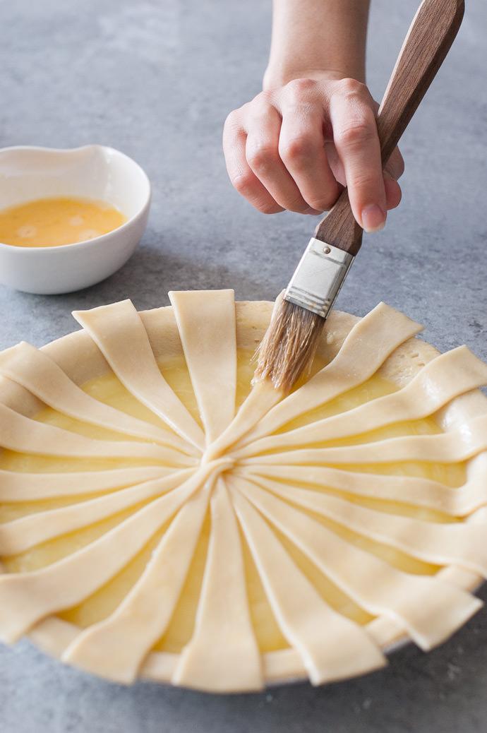 Sunburst Pie Crust Tutorial