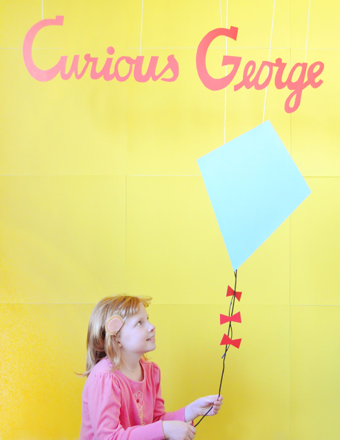 Recreate Your Favorite Curious George Covers Using DIY Monkey Ears!