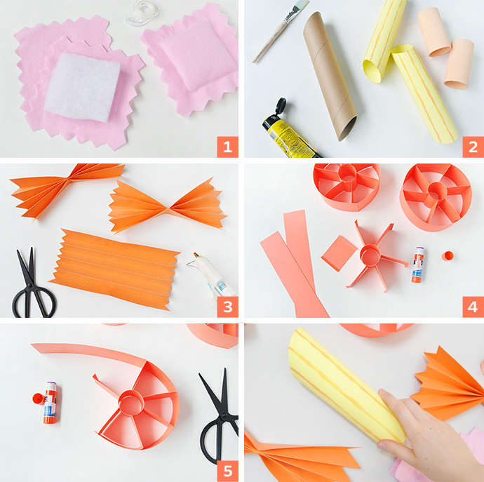 How to Make Giant Paper Pasta