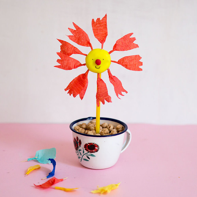 DIY Spring Flower Activity
