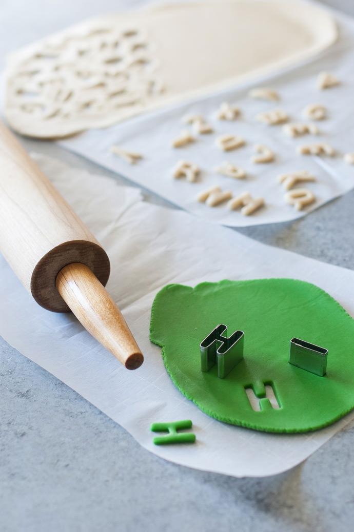 Alphabet Pie Crust Recipe & Tutorial