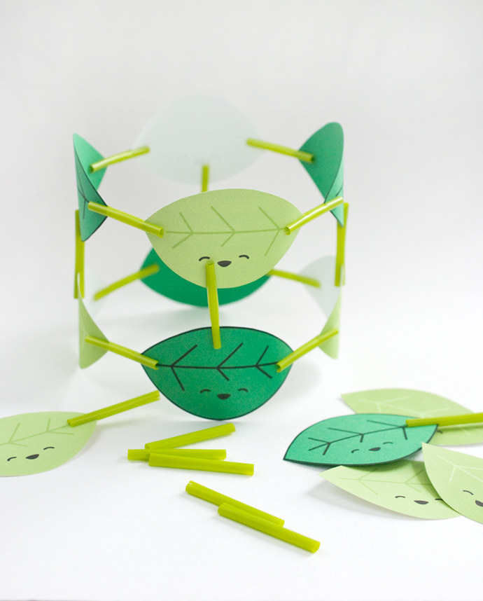 Printable Laughing Leaf Builders Activity