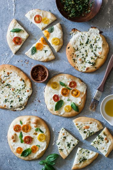 Recipe: Mini Garden Pizzas