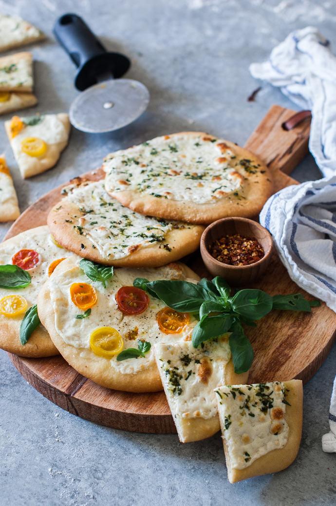 Recipe: Mini Garden Pizzas