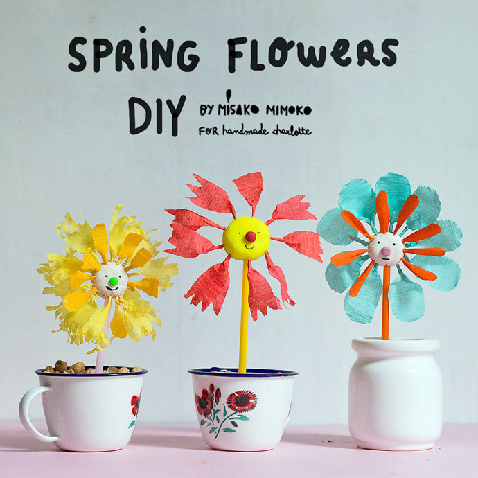 Diy Spring Flower Activity Handmade Charlotte