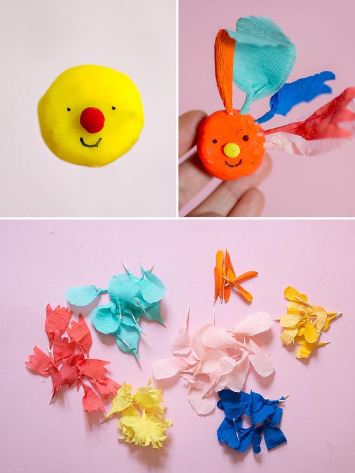 DIY Color Sorting Spring Flower Activity