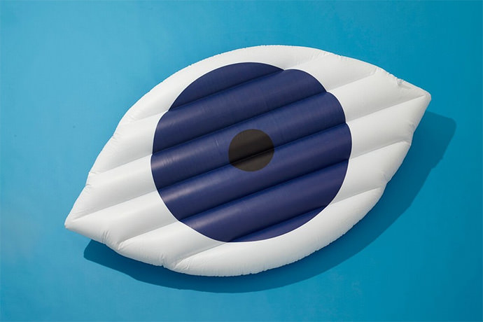 Giant Eye Pool Float