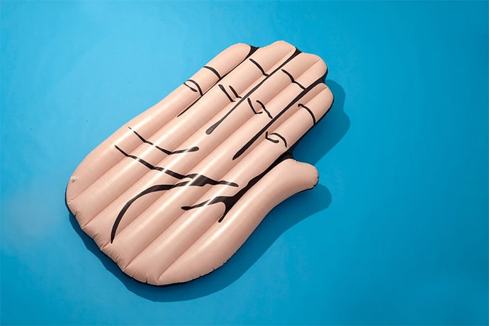 Giant Hand Pool Float