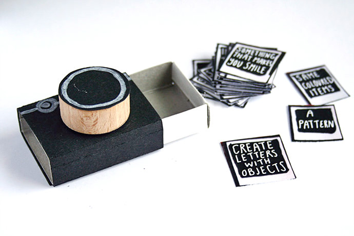 DIY Matchbook Camera, tutorial via Magical Daydream