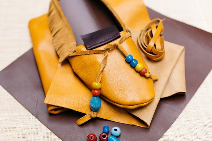 DIY Leather Moccasins Kit