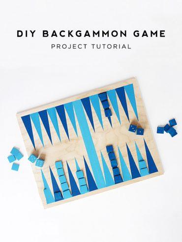 DIY Backgammon Game