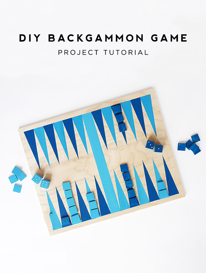graphic regarding Printable Backgammon Board titled Create a Straightforward Backgammon Sport for Summer season Evenings ⋆ Home made