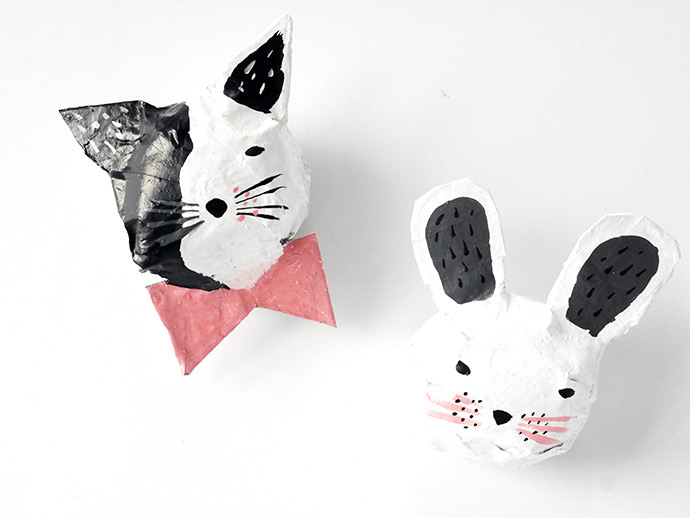 Paper Mache Animals