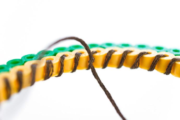 DIY Perler Bead Fruit Bracelets