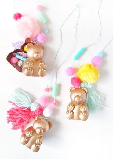 DIY Teddy Bear Lockets