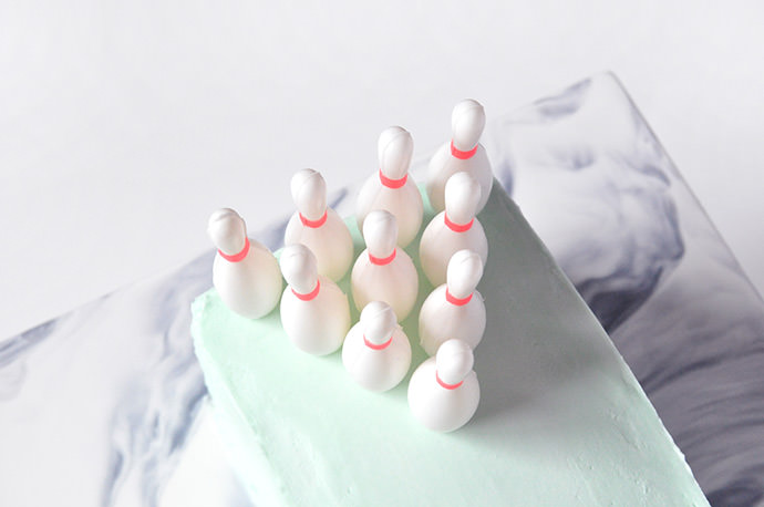 Bowling Alley Cake