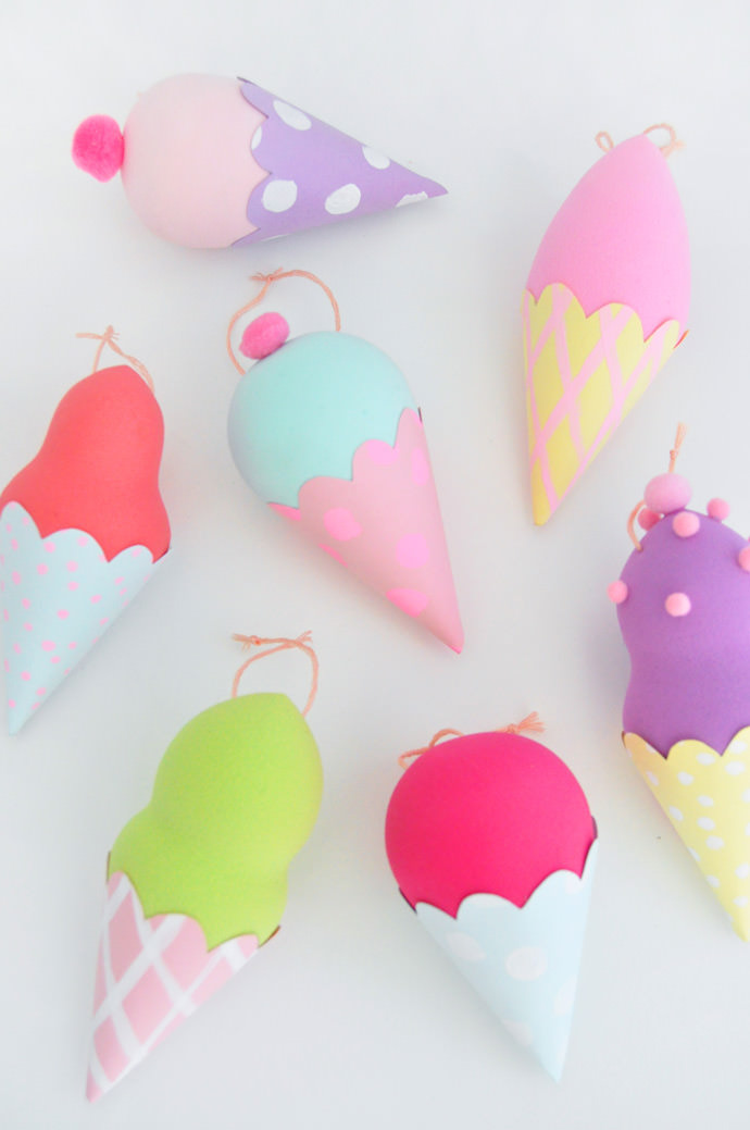 Mini Ice Cream Charms - Handmade Charlotte