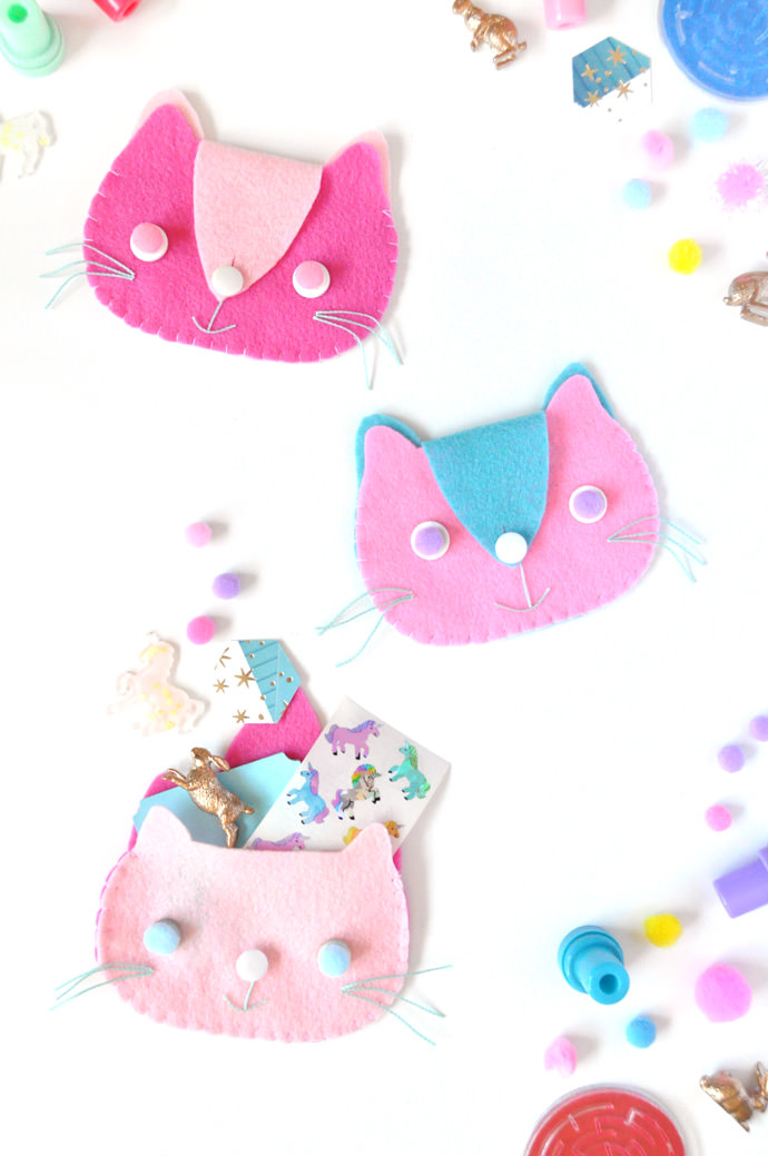 DIY Kitten Clutches