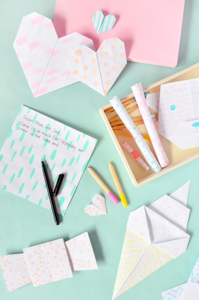 DIY Origami Mail Kit