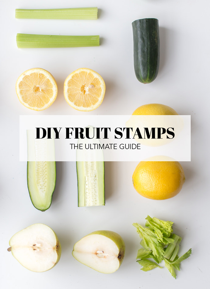 Ultimate Guide to DIY Fruit Stamps