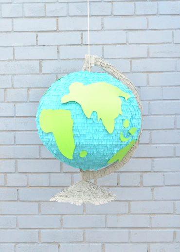 Giant Globe Back-to-School Pinata