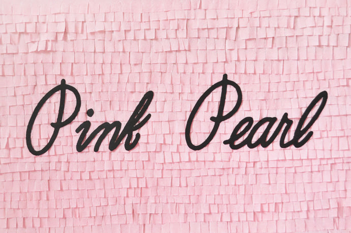 DIY Pink Pearl Eraser Back-to-School Pinata