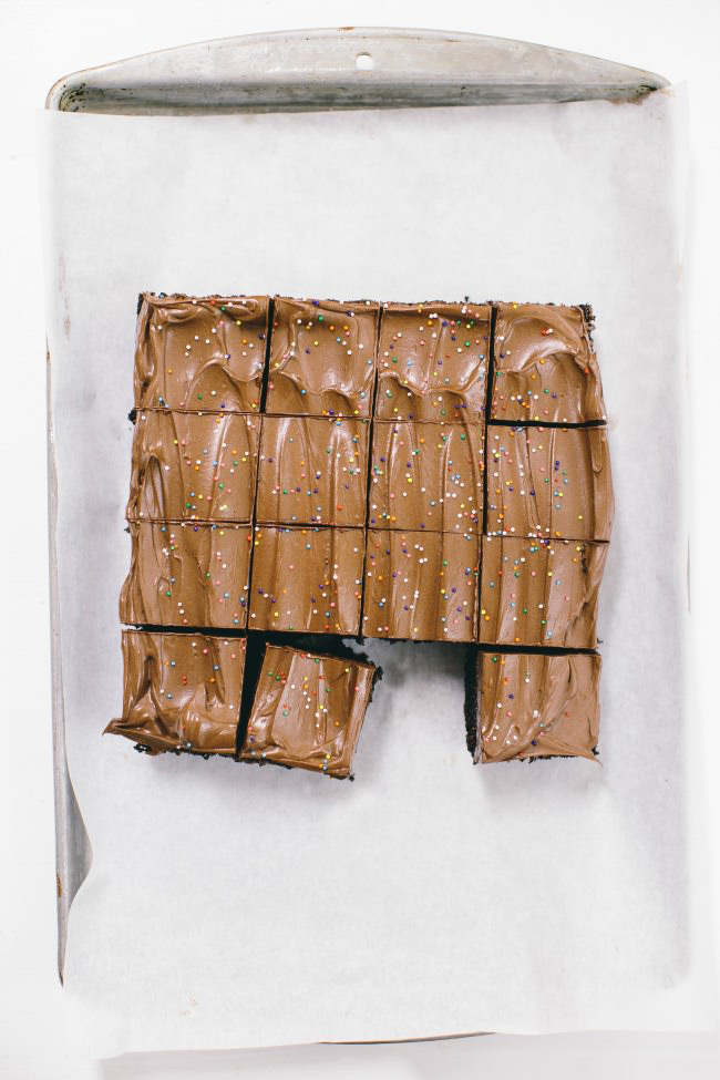 Recipe: After School Chocolate Snack Cake
