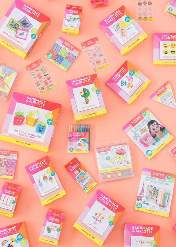 Shop The New Handmade Charlotte Kids Craft Kits At Michaels