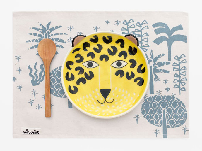 Jaguar Ceramic Set for Kids by KOM