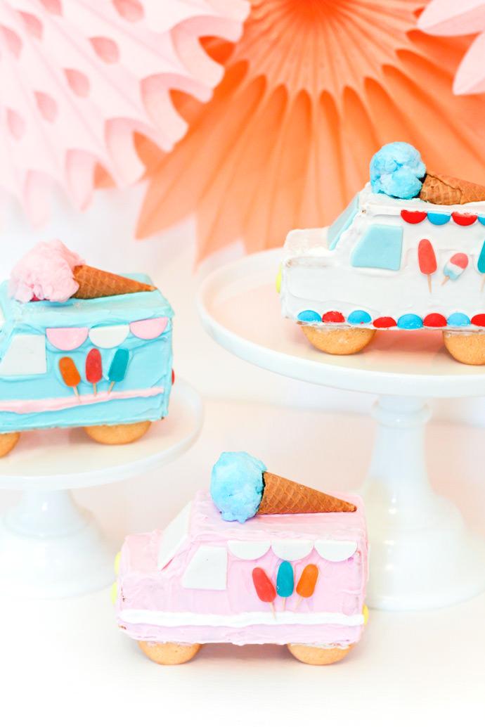 Gingerbread Ice Cream Trucks