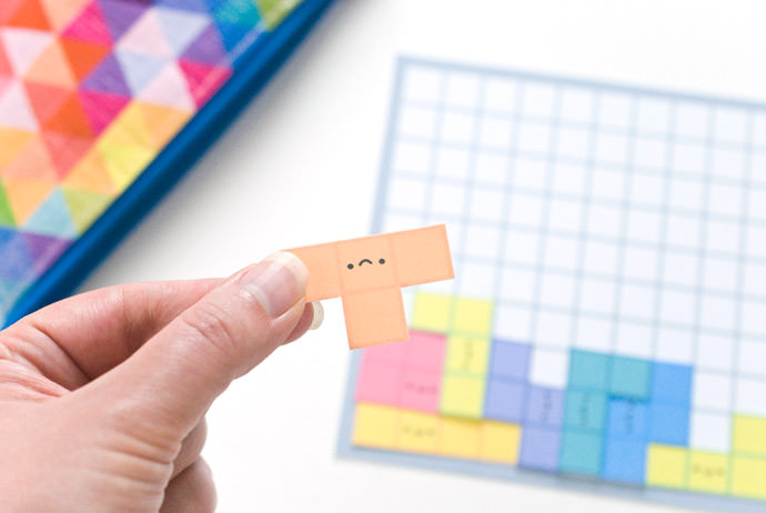 DIY Printable Tetris