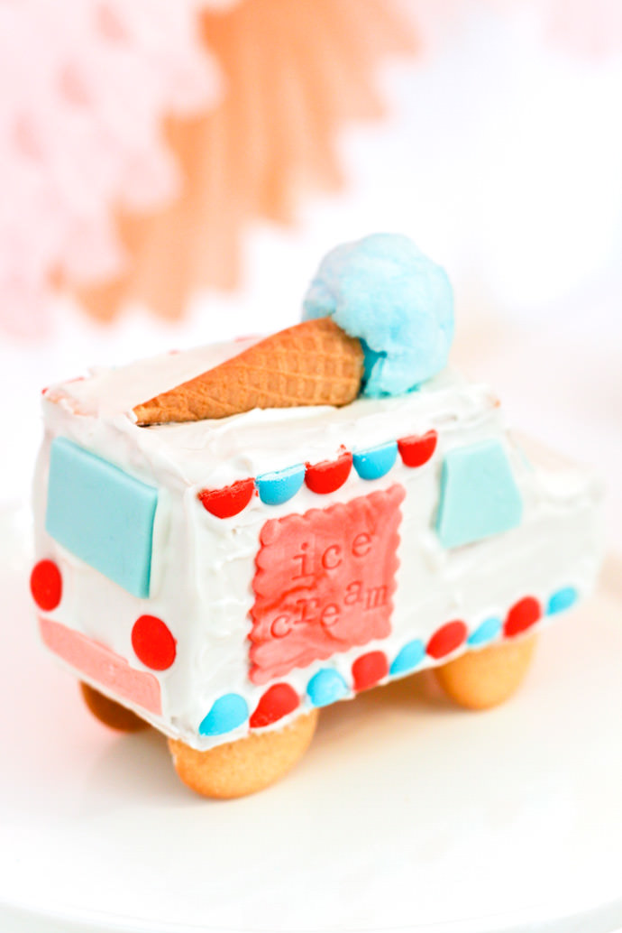 Gingerbread Ice Cream Trucks
