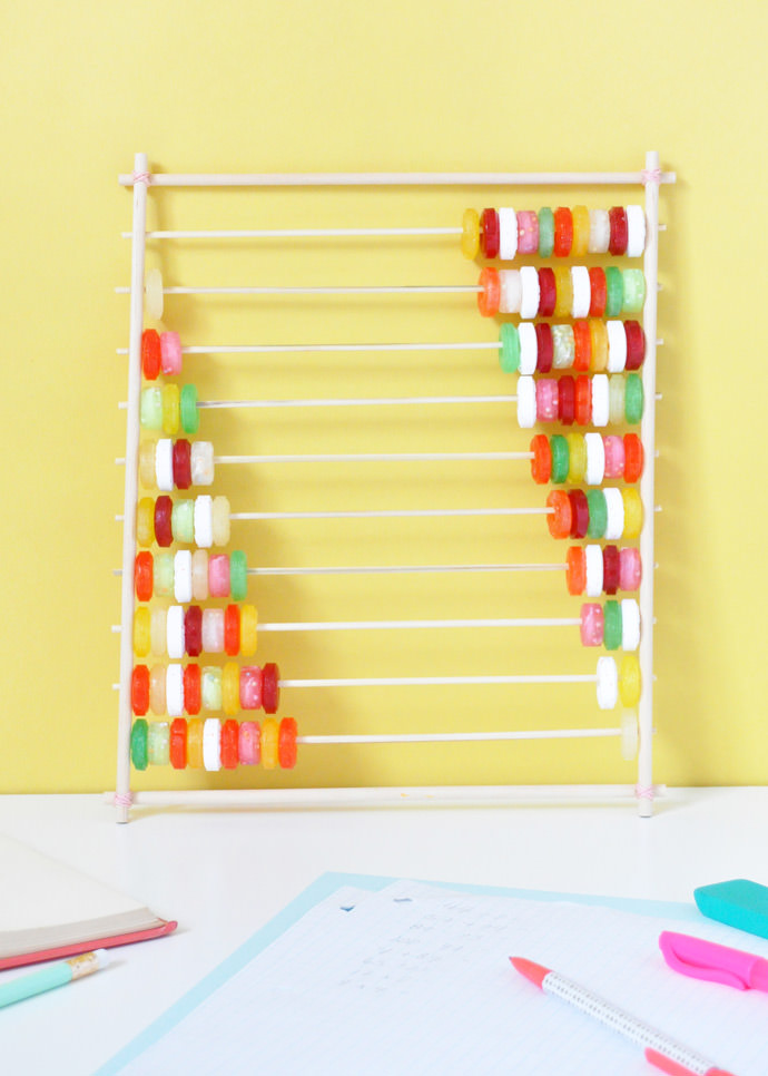 DIY Candy Abacus