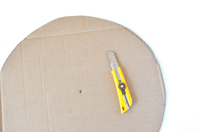 DIY Pie Chart Back-to-School Pinata