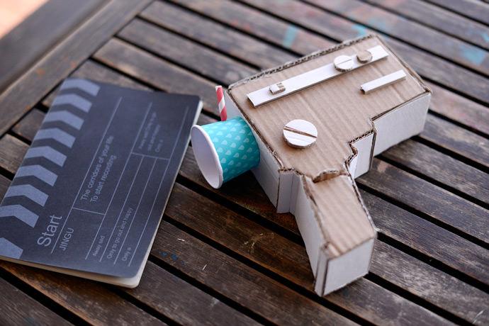 DIY Cardboard Super 8 Camera