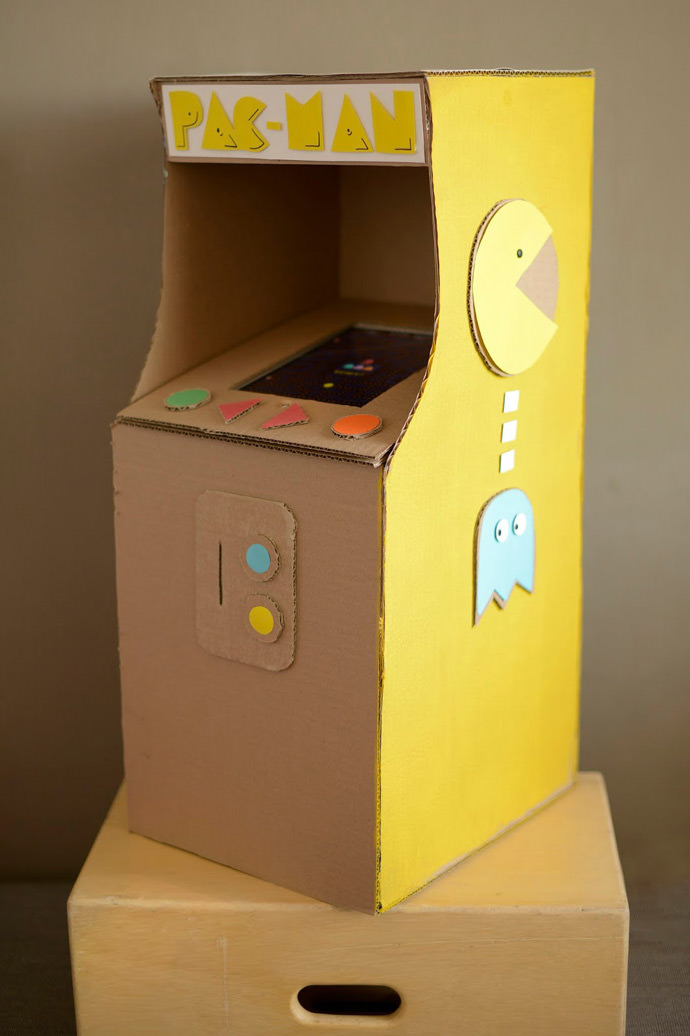 Cardboard Games Part - 35: ... Cardboard Arcade: DIY Pac Man Game