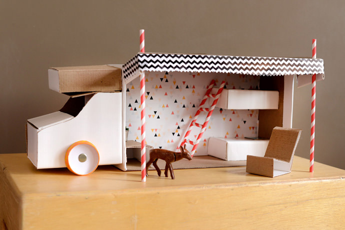 DIY Shoebox Camper
