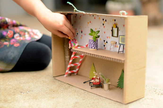 DIY Shoebox Fairy Cottage